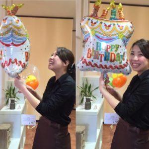 祝!誕生日!(^^)/